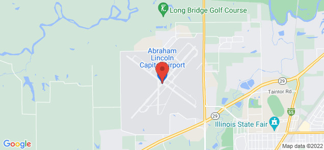 Map of Abraham Lincoln Capital Airport