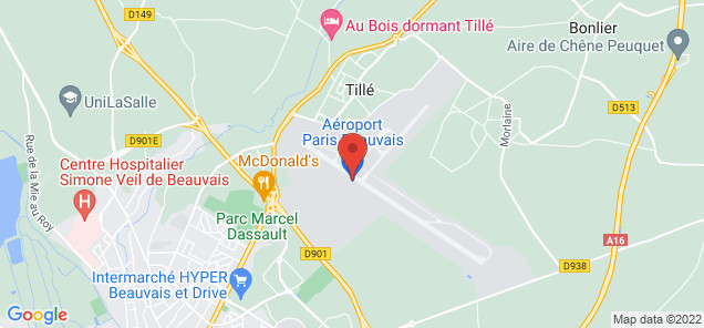 Beauvais Tille Airport Airplane Charters Jet Rentals