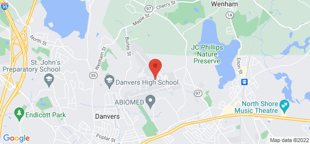 Map of Beverly Airport