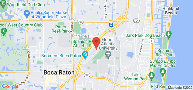 Map of Boca Raton Airport