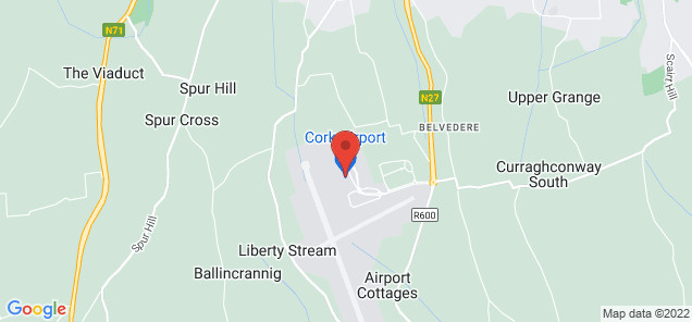 Map of Cork Airport