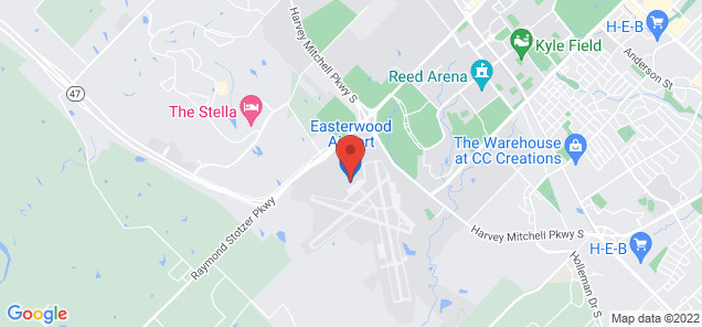 Map of Easterwood Airport
