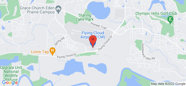 Map of Flying Cloud Airport