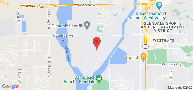 Map of Glendale Municipal Airport