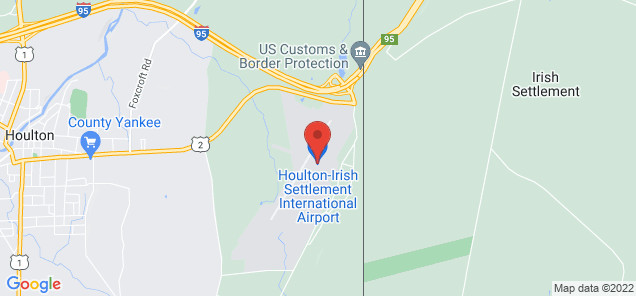 Map of Houlton International Airport
