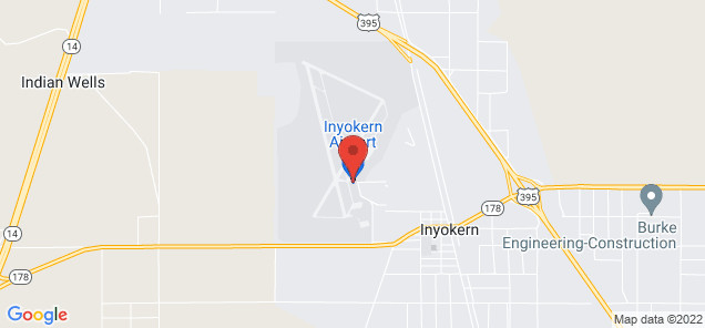 Map of Inyokern Airport