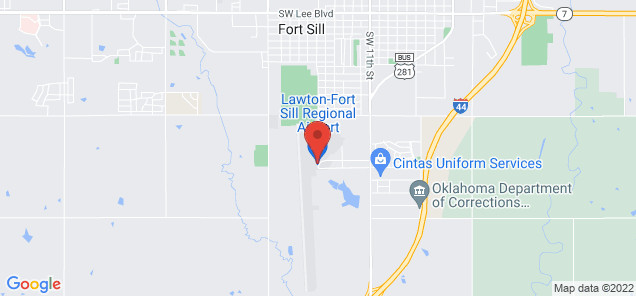 Map of Lawton Ft. Sill Regional Airport