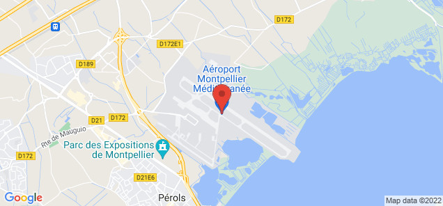 Map of Mediterranee Airport