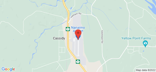 Map of Nanaimo Airport