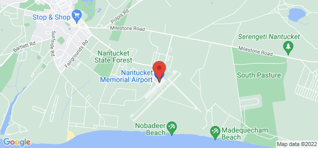 Map of Nantucket Memorial Airport