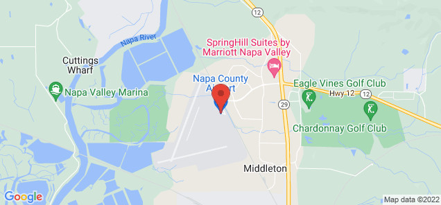 Map of Napa County Airport