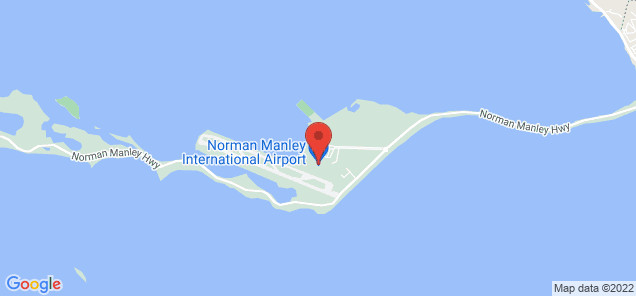 Map of Norman Manley International Airport