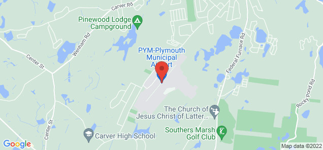Map of Plymouth Municipal Airport