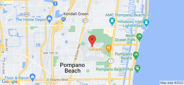 Map of Pompano Beach Airpark
