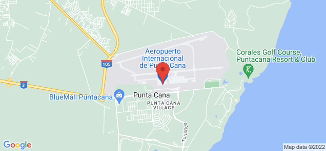 Map of Punta Cana International Airport
