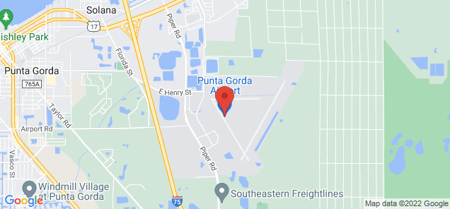 Map of Punta Gorda Airport