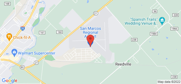 Map of San Marcos Municipal Airport