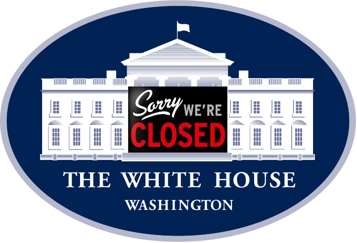 Government Shutdown - White House Closed