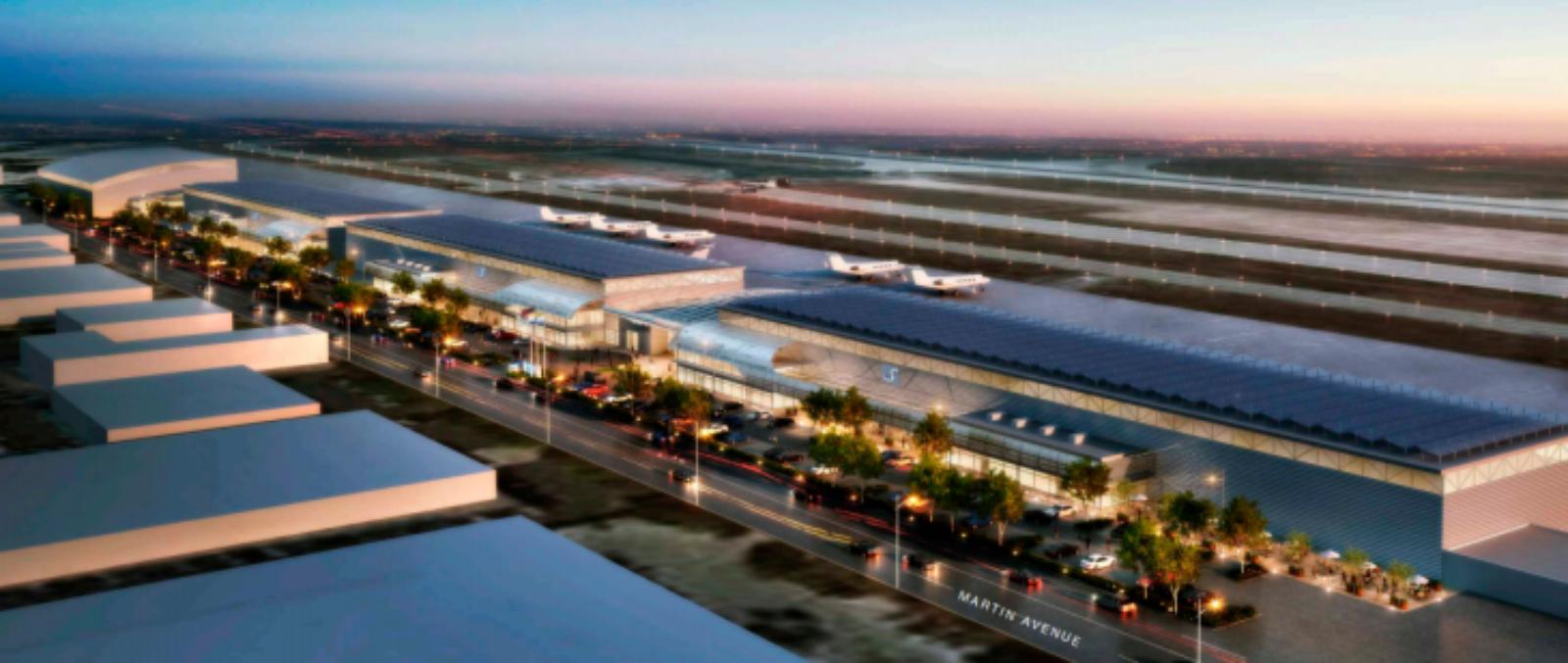 Google's New Hangar at KSJC