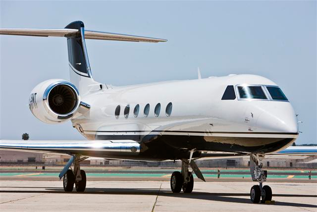 Phil Mickelson's Private Jet