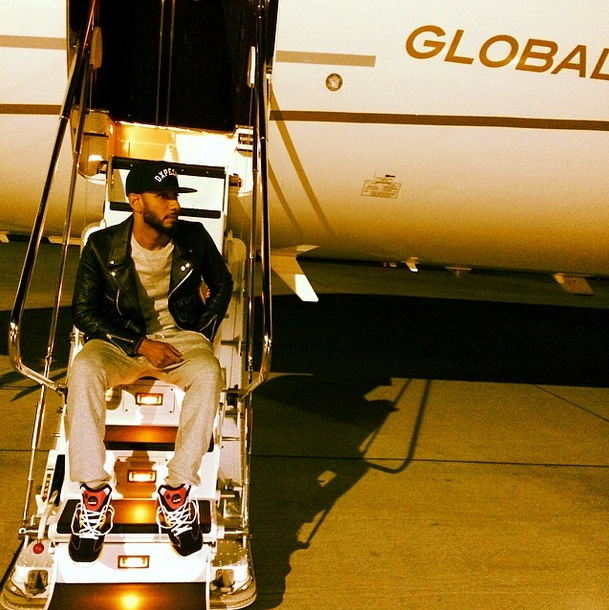 Swizz Beats Private Jet