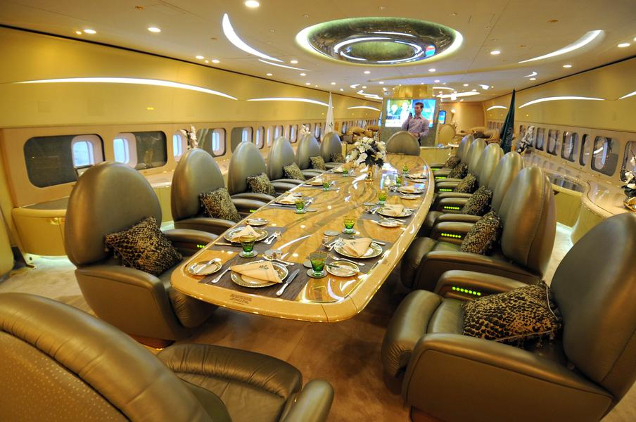 The Most Expensive Private Jet in The World